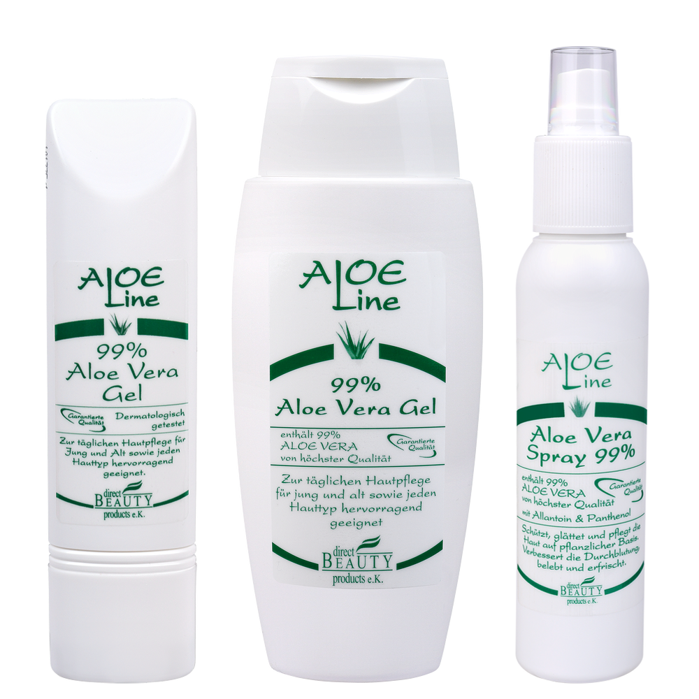 aloe vera multi pflege set aloe vera gel aloe vera. Black Bedroom Furniture Sets. Home Design Ideas